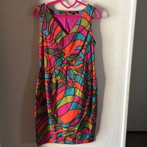 Anthropologie Glass Glow dress